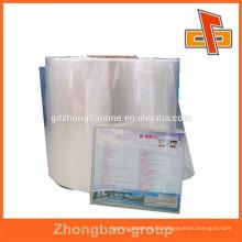 CDs package pvc heat shrink film in rolls form