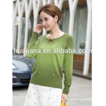 Кашемировый свитер 2015 новый дизайн женщин