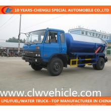 Caminhão da sucção do vácuo de Dongfeng 4X2 / caminhão da sucção da água de esgoto