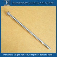 Medium Carbon Steel Hex Flange Head Long Bolts