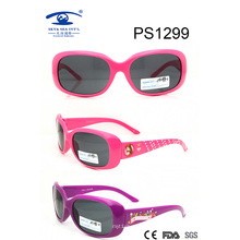 China Wholesale Beautiful Colorful Kid Plastic Sunglasses (PS1299)