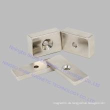 Block Senker Magnet Neodym Magnete