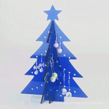 Рождество акриловый Стеллаж для выставки товаров для Промотирования