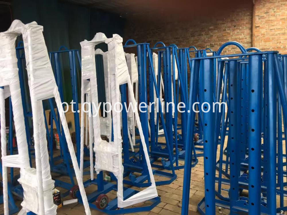 Hydraulic Cable Reel Lifting Stand
