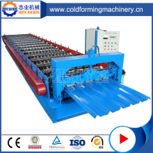 High Speed Zinc Zhiye Profiled Sheet Making Machine