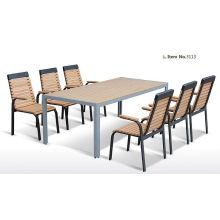 Дешевые патио Водонепроницаемая резная деревянная уличная мебель