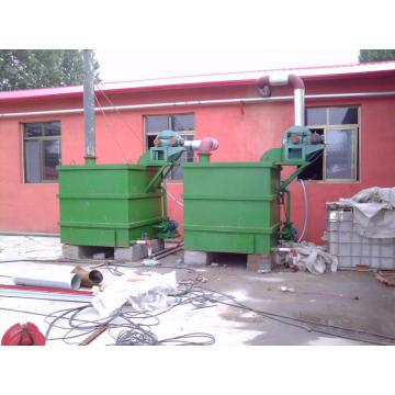 Máquina auxiliar de plástico para dispositivo de controle de poluição do ar