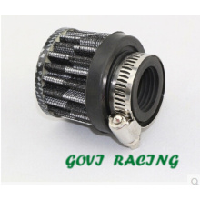 25mm Universal Car filtro de aire para el deporte de la toma de aire de la pipa Turbo eléctrico turbocompresor
