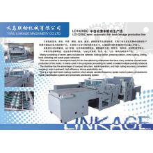 (Liandong) La silla de montar semiautomática grapó el libro de ejercicio que hacía la línea de producción (LD-1020BC)