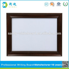 Framed metal whiteboard good quality