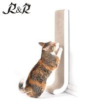El animal doméstico respeta la cartulina del rasguño del gato respetuoso del medio ambiente, el salón del rasguño del gato, el juguete CS-3030 del rasguño del gato