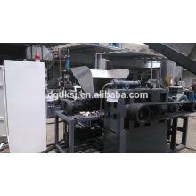Film PE PP sac deux scène plastique recyclage granulateur machine SJ-140