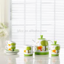 Conjunto de regalo de té de 7 niños