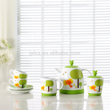 Set of 7 children tea set gift