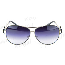 Women's aviator metal Sunglasses