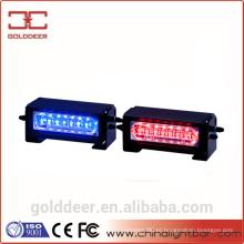 Vermelho / azul LED Dash Deck grade luzes, SL680 de luzes estroboscópicas veículo de emergência
