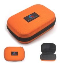 Estojo protetor de espuma eva balístico laranja completo para acessórios do telefone móvel