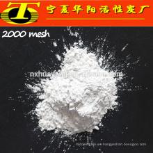 Ningxia fábrica corindón blanco fundido alúmina arenado malla 2000