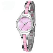 Alloy Strap et Case Lady Gift Watch pour la promotion