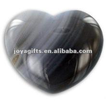 40MM Агатовые каменные сердца