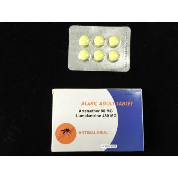 Artemether and Lumefantrine Tablet In House 80MG/480MG