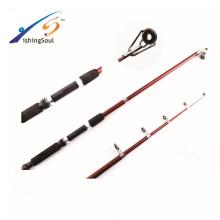 TSR069 Chine en gros bon marché pêche tackle fiberglass télescopique canne à pêche