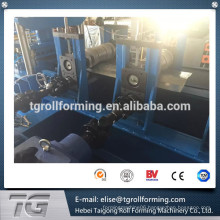 galvanized steel highway guardrail roll forming machine with initial design