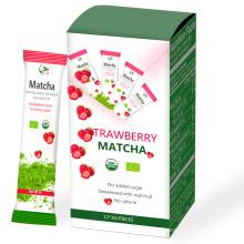 OEM Matcha on the Go Bolsas pequeñas, paquete Organic Matcha