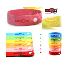 Bracelets anti moustiques d'huile de citronnelle, bandes insectifuge