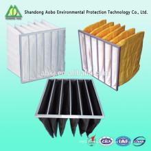 filtro de bolsa de aire sintético de bolsillo de aluminio estándar del marco