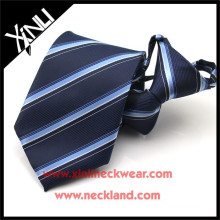 High Quality Polyester Jacquard Woven Wholesale Child Zipper Neckties
