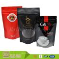 Großhandels-wiederversiegelbarer Reißverschluss-Gewohnheit gedruckt stehen oben Beutel für Kaffee mit Ventil