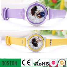 Montre-bracelet réglable à quartz étanche pour enfants