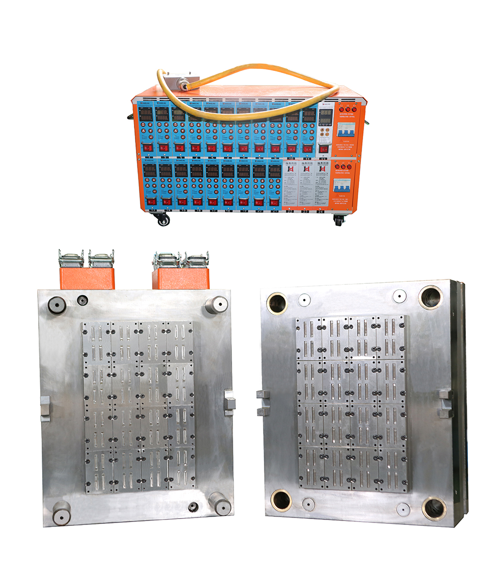 flat drip mould with 64 cavity and hot runner