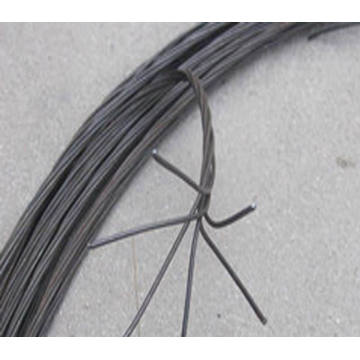 1.24mm Double Black Annealed Twisted Wire for Brazil Market