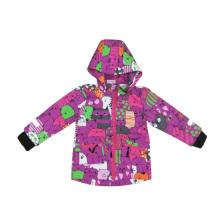 Meisje Softshell kleding met kinderen buiten jas