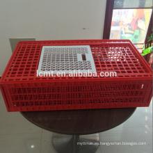 Jaula de transporte de pollos de aves de corral de plástico de nuevo diseño