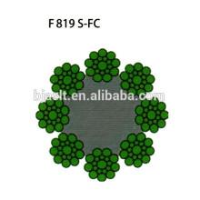 Elevator Stahldraht Seil F819 S-FC / Aufzug Drahtseile / Aufzugskomponente