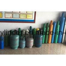 99.999% Helium High Pressure Gas Cylinder