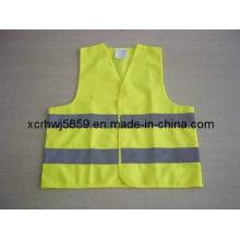 Orange Police Reflective Vest / Precio más barato Chaleco de seguridad / Workwear Chaleco de seguridad de malla Chaleco de protección de equipo de seguridad vial / más populares En471 Clase 2