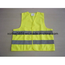 Orange Police Reflective Vest/Cheapest Price Safety Vest/Workwear Mesh Safety Vest Road Safety Equipment Protection Vest/Most Popular En471 Class 2
