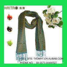 fashion design acrylic scarf for the new season women 30%silk 70%acrylic