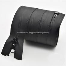 Cremallera de nylon de metal resistente al agua personalizada para bolsa