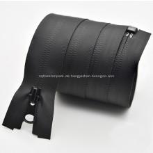 Benutzerdefinierte wasserdichte Metall-Nylon-Reißverschluss für die Tasche