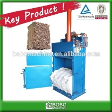 high efficient cardboard press baling machine