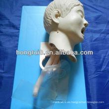 Maniquí avanzado de intubación traqueal del niño de 2013