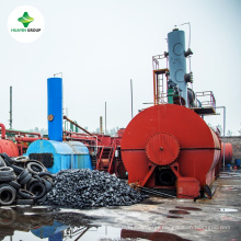 The Latest Technology 20ML to 10T Waste Engine Oil Pyrolysis Oil Distillation To Diesel Machine