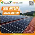 Bluesun hot quality 3 phase grid tie solar inverter 7000w 8000w  9000W for Eu market