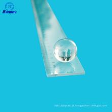 Oferta de lente de esfera de vidro óptico e meia lente de bola