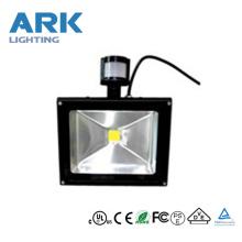 50w sensor led luces de inundación (shenzhen)